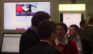 Software demos were a core part of the Ricoh stand at Hunkeler Innovationdays 2013