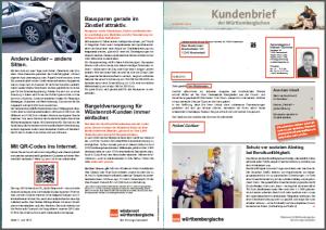 Personal insurance group Württembergische Versicherung  AG