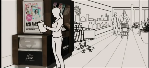 Artist's impression of Meganews in action